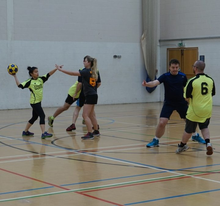 Solo Korf Balham in action